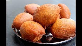 ചായക്കട സ്പെഷ്യൽ ബോണ്ട ||Kerala Tea Shop Bonda||Anu's Kitchen