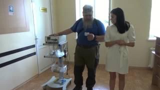 Медицинское оборудование для Донецкой травматологической больницы(Движением