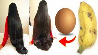 Как быстрее отрастить блестящие и шелковистые волосы с яйцом и бананом Супер Быстрый Рост Волос Дома