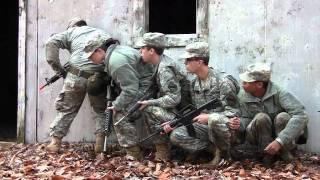 Army Cadets train at Bog Brook