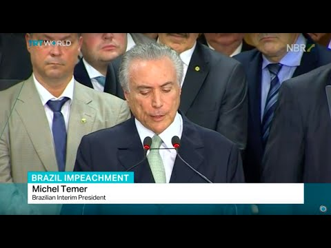 Brazil's acting president Temer calls for trust, Manuela Parrino reports