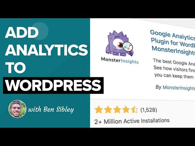 How to Install Google Analytics on WordPress Using One Simple Plugin