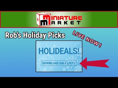 Rob's Picks for Miniature Market Last Minute Sale Live Now!