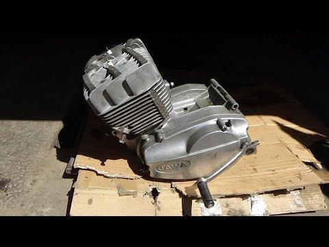 Разборка двигателя Ява 638.