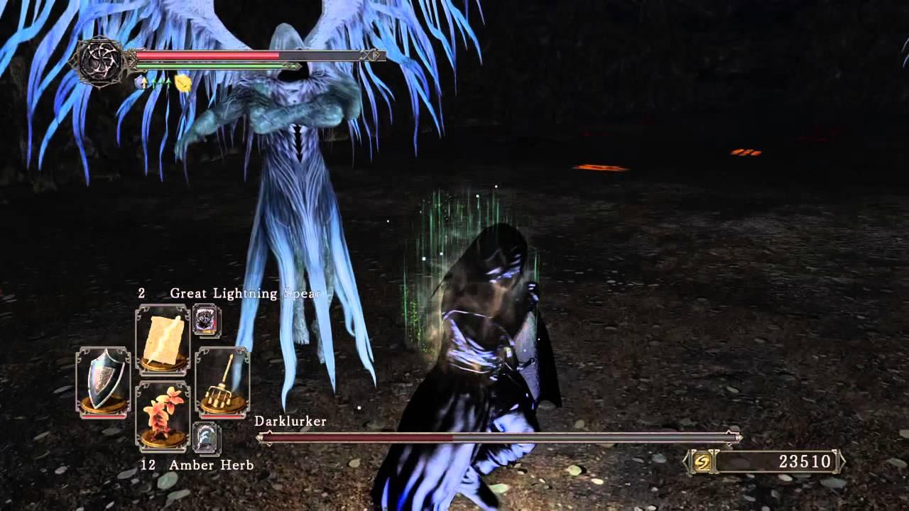 darklurker w lightning spears dark souls ii scholar of the first