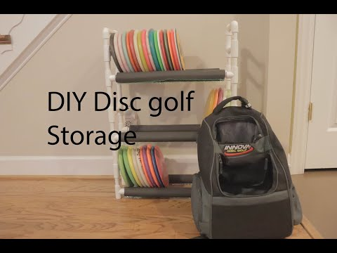 DIY Disc Golf Storage