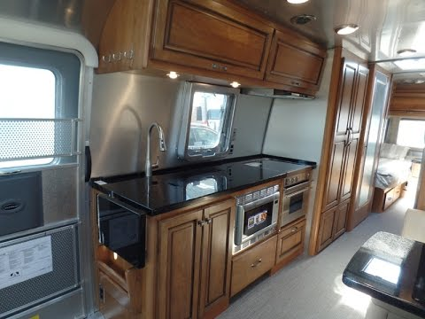 Beautiful Colonial Airstream - YouTube