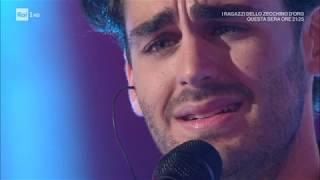 """Alberto urso canta """"e poi ti penti"""" - domenica in 03/11/2019"""