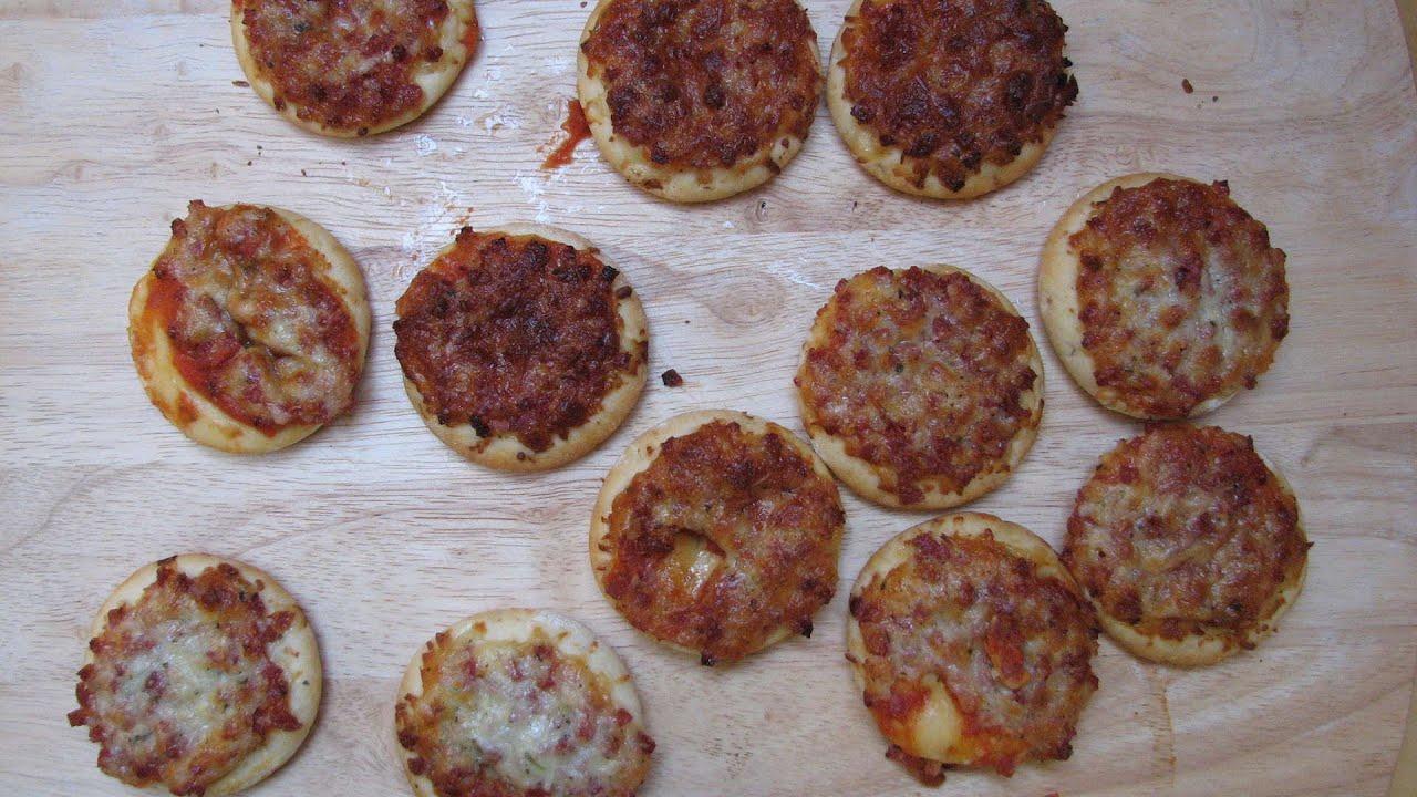 Mini Pizza Salami Edeka Gut Gunstig Youtube