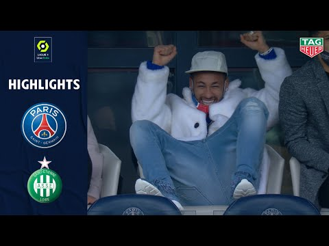 PSG St. Etienne Goals And Highlights