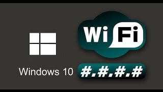 Как узнать пароль от Wi-Fi в Windows 10