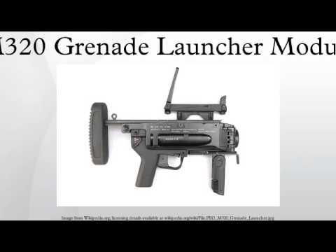 M320 Grenade Launcher Module - YouTube