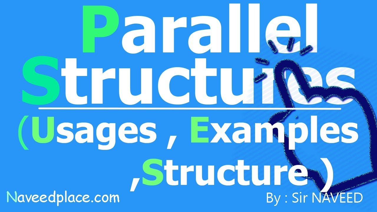 examples of parallel structure