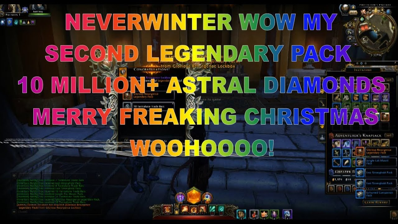 neverwinter how to get legendary