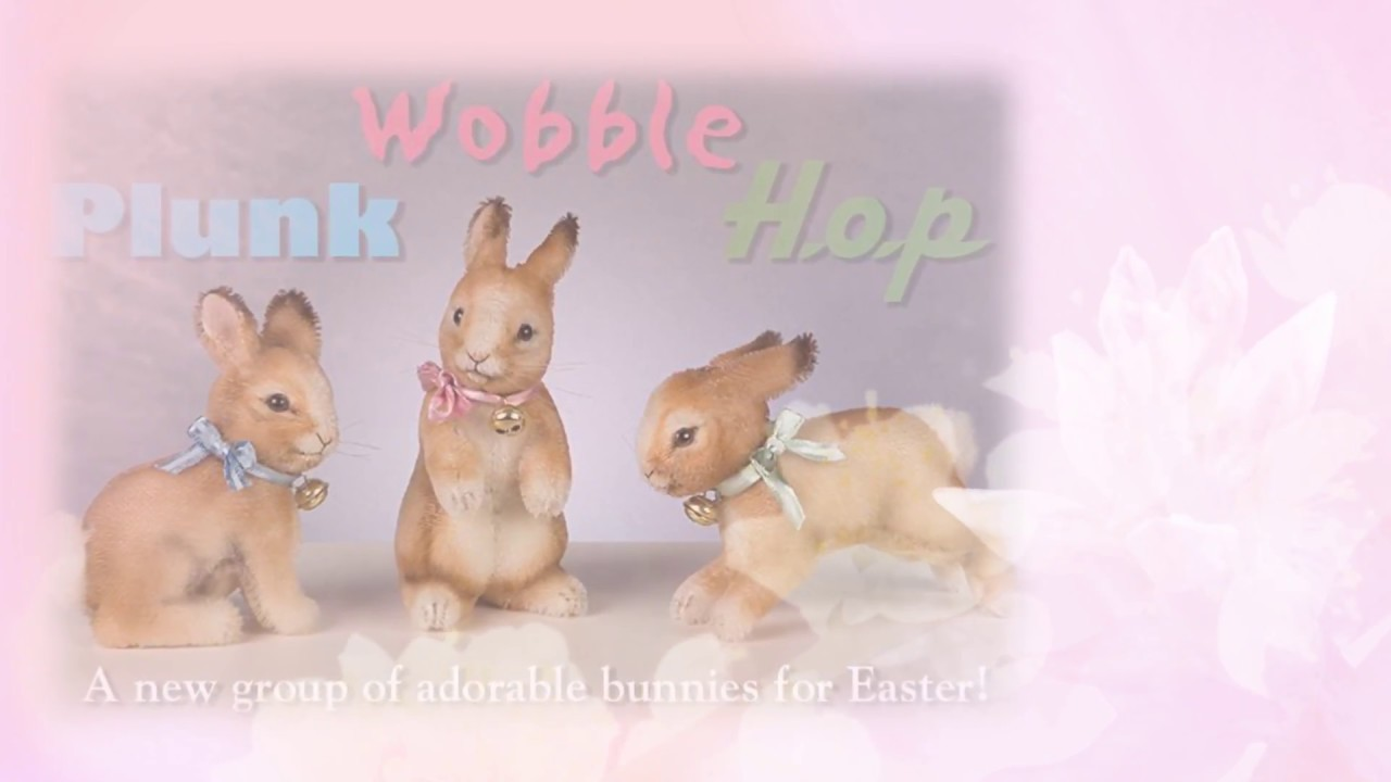 meet the r john wright easter bunnies for 2017 youtube