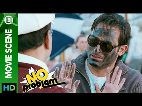 Akshaye Khanna turned black face | No Problem