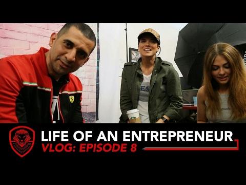 VISITING ENTREPRENEURS IN LOS ANGELES-  Life of an Entrepreneur VLOG Episode 8