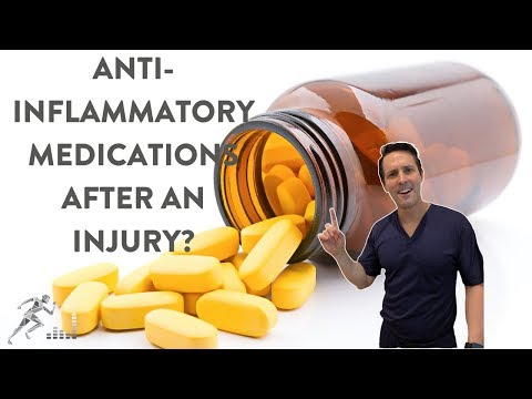 Taking anti-inflammatory medications after a fracture