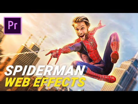 Shooting WEB effect from SPIDERMAN (Premiere Pro) thumbnail