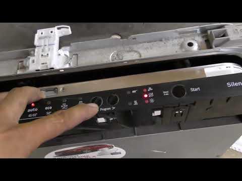 Обзор посудомойки Bosch Smv51e30eu, ремонт платы