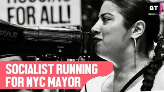 Socialist Running for NYC Mayor -- and for Housing, Food, and an End to Police Terror