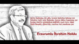 Hayati İnanç - Erzurumlu İbrahim Hakkı