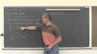 Gambar cover Chain Rule for Derivatives & General Power Rule Calculus 1 AB