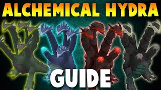 NEW In-Depth ALCHEMICAL HYDRA Guide (2019 Slayer Boss) [OSRS]