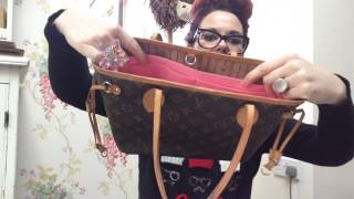 02eed12f6839 Unboxing reveal from lanillio liners luxury handbag organiser for my Louis  Vuitton pm neverfull