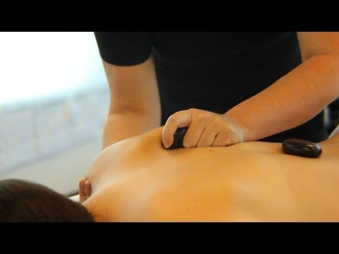 How to Place Stones for a Back Massage | Hot Stone Massage
