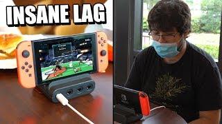 Using Fast Food Wifi to Play Smash Bros
