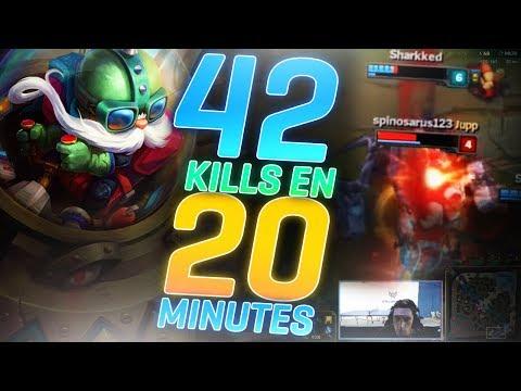 42 KILLS EN 20 MINUTES ?! - TEAM LUNARY #5