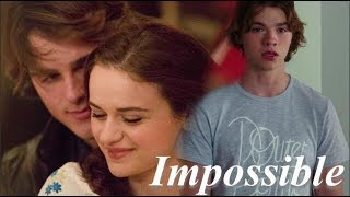 The Kissing Booth - Elle + Noah + Lee -Story -Impossible edit