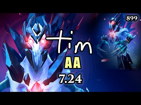 Dota 2 Ancient Apparition 7.24 | Crushing It AA Style