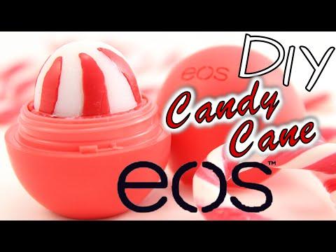 EOS selber machen DEUTSCH I DIY EOS Candy Cane Lip Balm I Geschenkidee I Lippenbalsam herstellen