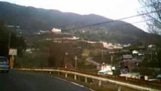 国道424号を有田川町金屋~海南市向けに移動:その1