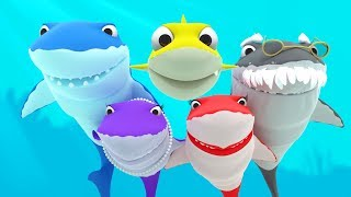 Baby Shark +More Nursery Rhymes & Kids Songs - LETSGOMARTIN