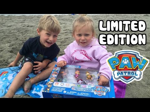 PAW PATROL Limited Edition Metallic Paw Patrol Toys with Action Paw Patrol Pup Packs