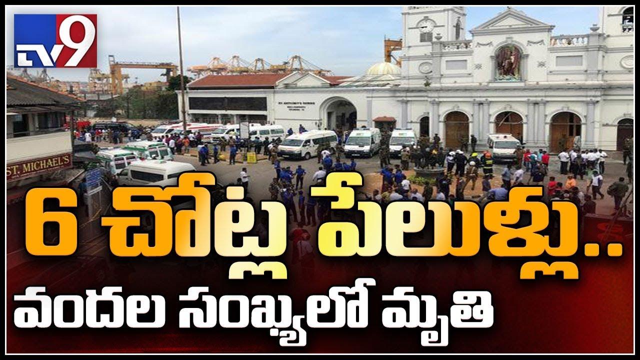 Sri Lanka bomb blasts : India monitoring situation, says Sushma Swaraj - TV9