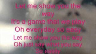 Natasha Thomas - Let Me Show You The Way (Lyrics)