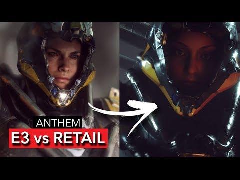 ANTHEM GAME - E3 2017 DOWNGRADED vs DEMO 2019 (PC / PS4 Pro) | Comparison and Downgrade [2019]