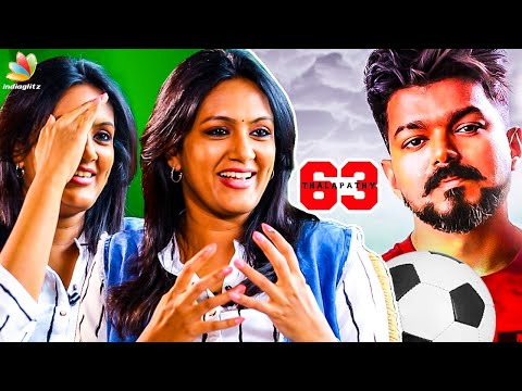 My Character in Thalapathy 63 : Devadharshini Reveals | Atlee, Vijay Movie | Kanchana 3
