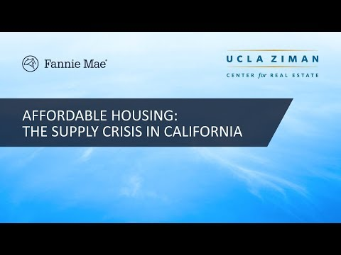 Affordable Housing Symposium: the Supply Crisis in California