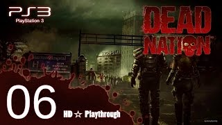 Dead Nation 【PS3】Co-op Pt.6 │ Marrow Hospital