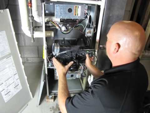 DIY - How to Change the Draft Inducer on a Bryant 350AAV ...