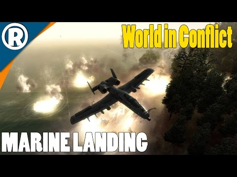 MARINE LANDING - World in Conflict: Soviet Assault - Mission 19