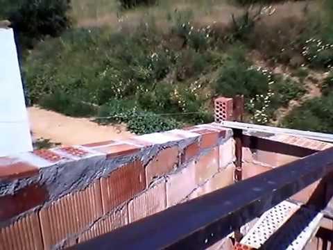 Como constuir un tejado economico con vigas de upn y rasillones parte 2 youtube - Como construir un tejado ...