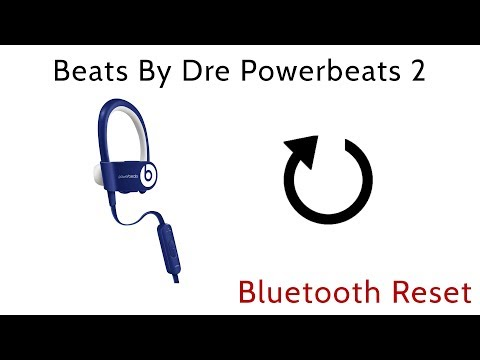 How To Reset Beats By Dre Powerbeats 2 Wireless Earbuds Bluetooth Reboot Youtube
