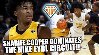 Sharife Cooper ABSOLUTELY DOMINATED THE NIKE EYBL CIRCUIT!! | Best Point Guard in the Country??