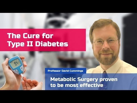 New treatment for type 2 diabetes. Metabolic Surgery for diabetes.